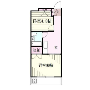 2K Mansion in Higashioi - Shinagawa-ku Floorplan