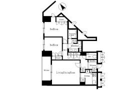 港區元麻布-2LDK公寓