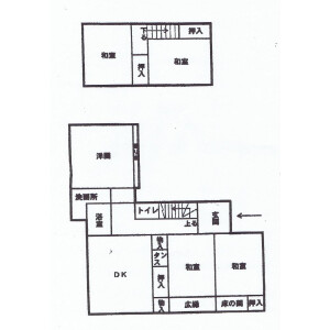 Whole Building {building type} in Suzaki - Shimoda-shi Floorplan
