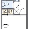 1K マンション 大阪市住吉区 間取り