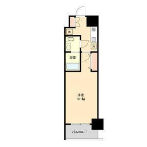 1K Mansion in Sakae - Nagoya-shi Naka-ku Floorplan