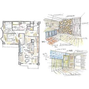 三浦郡葉山町 - 一色 大厦式公寓 3SLDK 楼层布局