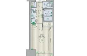 1K Apartment in Katakasu - Fukuoka-shi Hakata-ku