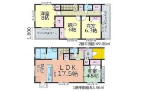 4LDK House in Yoshizu - Nagoya-shi Nakagawa-ku