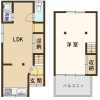 1LDK House to Buy in Matsubara-shi Floorplan