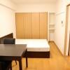 在新宿区内租赁1K 公寓大厦 的 起居室