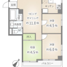 3DK Apartment to Buy in Taito-ku Floorplan
