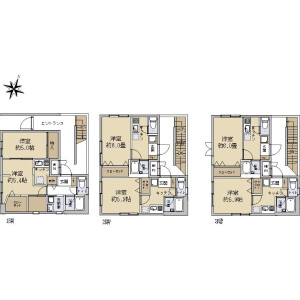 Whole Building {building type} in Kamitsurumahoncho - Sagamihara-shi Minami-ku Floorplan