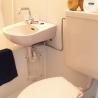 在大阪市中央區內租賃1K 公寓 的房產 廁所