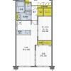 1SLDK Apartment to Buy in Toyonaka-shi Floorplan