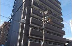 大阪市浪速区稲荷-1K公寓大厦