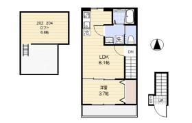 1LDK Apartment in Kameari - Katsushika-ku