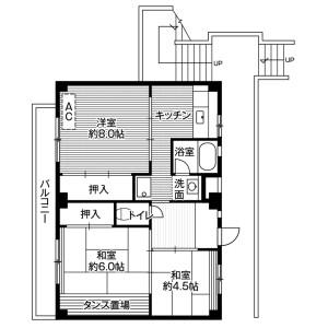 3DK Mansion in Oya - Saitama-shi Minuma-ku Floorplan