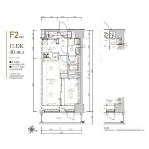 1LDK Mansion in Shinden - Adachi-ku Floorplan