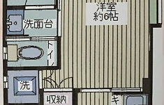 1R House in Kamiochiai - Shinjuku-ku