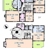 4LDK House to Rent in Shibuya-ku Floorplan
