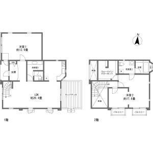 2LDK {building type} in Nagakura - Kitasaku-gun Karuizawa-machi Floorplan