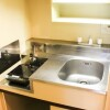 1R Apartment to Rent in Chiyoda-ku Kitchen
