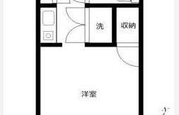 1R {building type} in Shiohama - Koto-ku