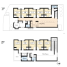 Private Guesthouse to Rent in Kyoto-shi Sakyo-ku Floorplan
