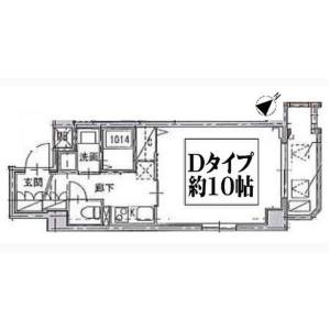 1K Mansion in Sengencho - Yokohama-shi Nishi-ku Floorplan