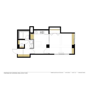 1LDK Apartment in Minami4-jonishi - Sapporo-shi Chuo-ku Floorplan
