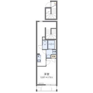 1K Mansion in Ganeko - Ginowan-shi Floorplan