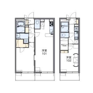 1K Mansion in Wakabadai - Otsu-shi Floorplan