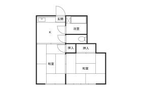 2K Apartment in Shibokuhoncho - Kawasaki-shi Miyamae-ku