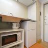 1K Apartment to Rent in Shinjuku-ku Kitchen
