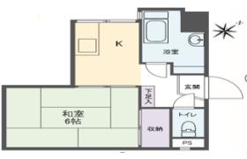 1K {building type} in Watarida - Kawasaki-shi Kawasaki-ku