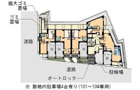 3LDK Apartment in Nakacho - Meguro-ku