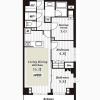 2SLDK Apartment to Rent in Taito-ku Floorplan