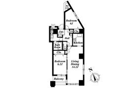 品川区 - 東五反田 公寓 2LDK