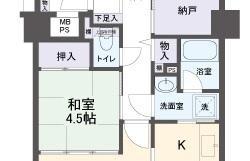 4LDK Apartment in Fushiocho - Ikeda-shi