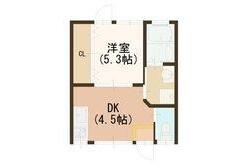1DK House to Buy in Kyoto-shi Shimogyo-ku Floorplan