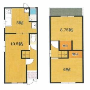 2LDK {building type} in Kitashimizucho - Sakai-shi Sakai-ku Floorplan