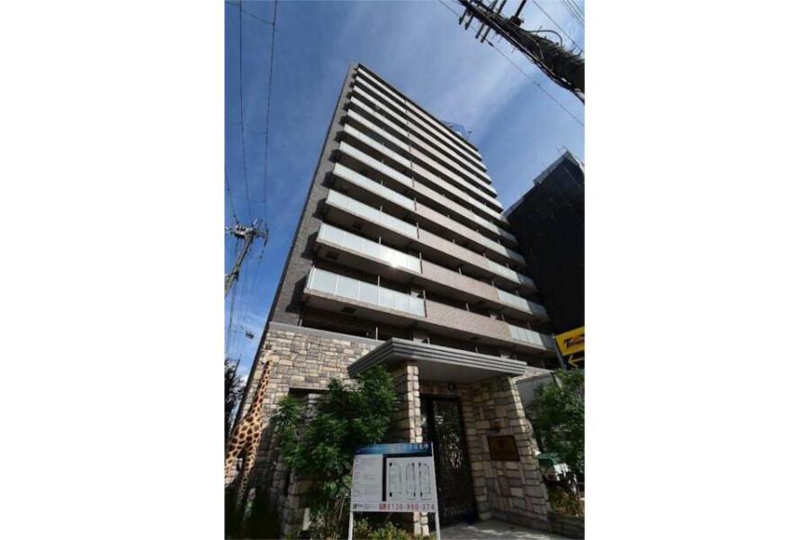 在大阪市東淀川区内租赁1LDK 公寓大厦 的 户外