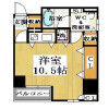 1R Apartment to Rent in Osaka-shi Chuo-ku Floorplan