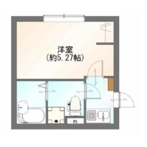 1K Apartment in Nakadai - Itabashi-ku Floorplan