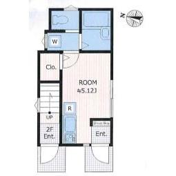 1R Apartment in Kitamachi - Nerima-ku Floorplan