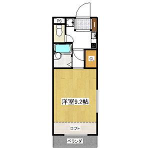 1K Mansion in Shido - Amagasaki-shi Floorplan
