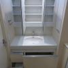 在港区内租赁2LDK 公寓大厦 的 盥洗室
