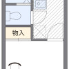 1K アパート 横浜市緑区 間取り