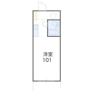 1K Apartment in Nishicho - Soka-shi Floorplan