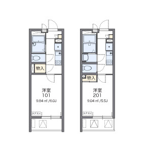 1K Mansion in Yayoicho - Itabashi-ku Floorplan