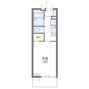 1K Mansion in Osemba - Kawagoe-shi Floorplan