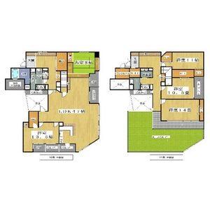 5LDK Mansion in Shikitsunishi - Osaka-shi Naniwa-ku Floorplan