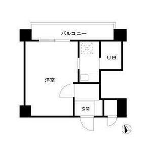 1K Apartment in Haramachida - Machida-shi Floorplan