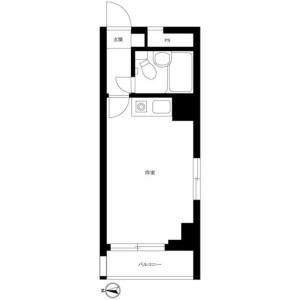 1R Mansion in Nakano - Nakano-ku Floorplan